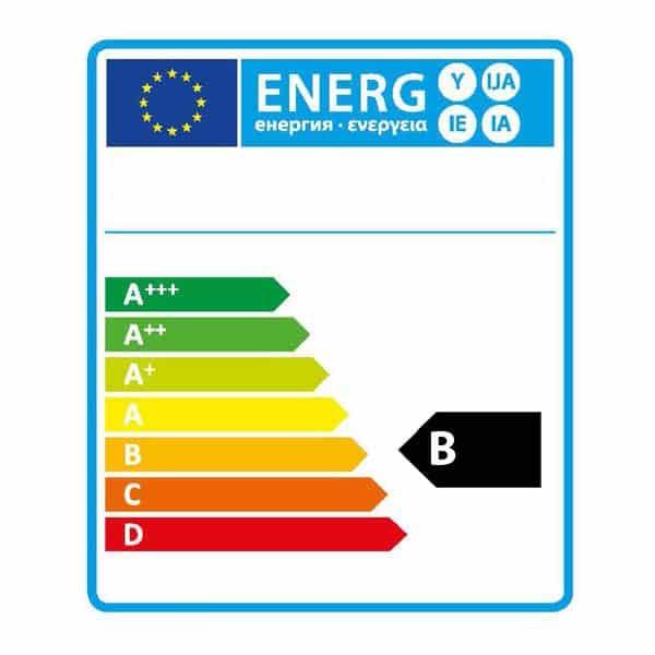 Energie label B