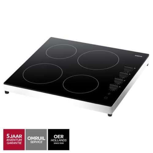 Inventum VKC6010WIT vrijstaand keramisch kookplaat-liggend