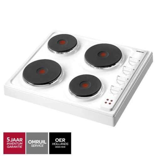 Inventum VKE6010WIT vrijstaand elektrisch kookplaat