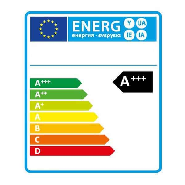 Energie label A+++