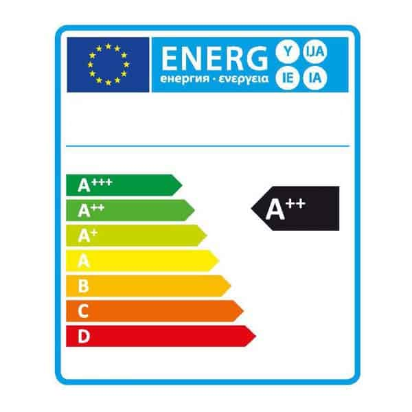 Energie label A++